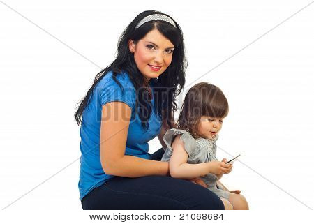 Mother With Toddler Girl