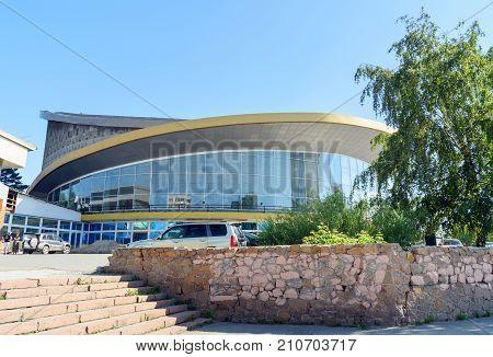 Novosibirsk State Circus In Siberia. Russia