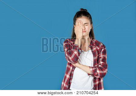 Ashamed Teen Girl