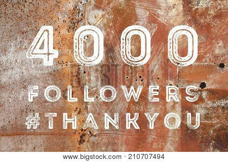4000 Followers