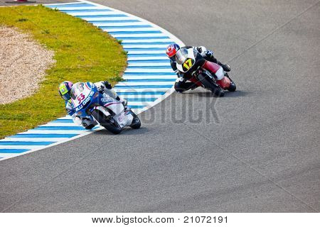 Sergio Gadea And Taylor Mackenzie  Of 125Cc