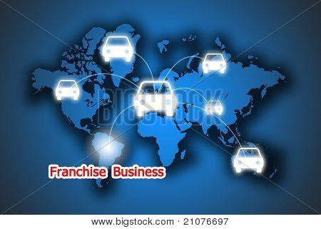 Service Fanchise Business Rent