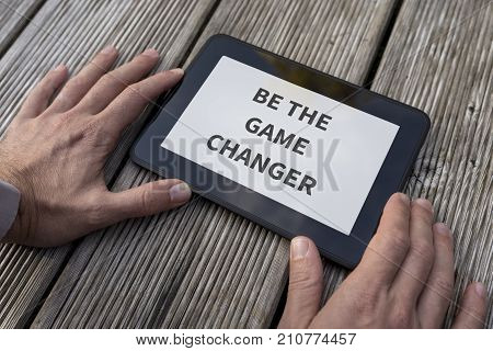 Motivational And Inspirational Message Be The Game Changer