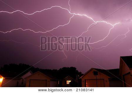 cloud lightning stirke