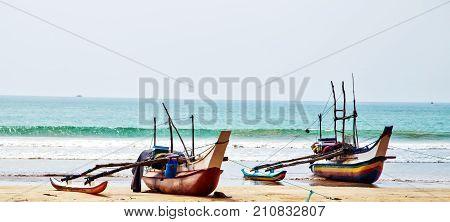 Old Fishing Catamarans, Fish Boats