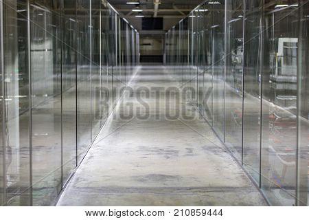 Corridor In An Industrial Premises