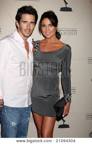 LOS ANGELES - JUN 16:  Brandon Beemer, Nadia Bjorlin arriving at the ATAS Daytime Emmy Nominee Reception at SLS Hotel at Beverly Hills on June 16, 2011 in Beverly Hills, CA