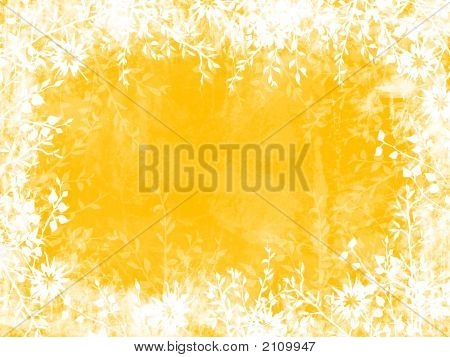 Yellow Leaf Border