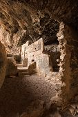 Tonto native american indian ruins cliff dwelling poster