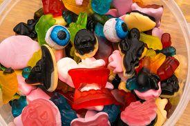 Haloween Candy Monster Eyeballs
