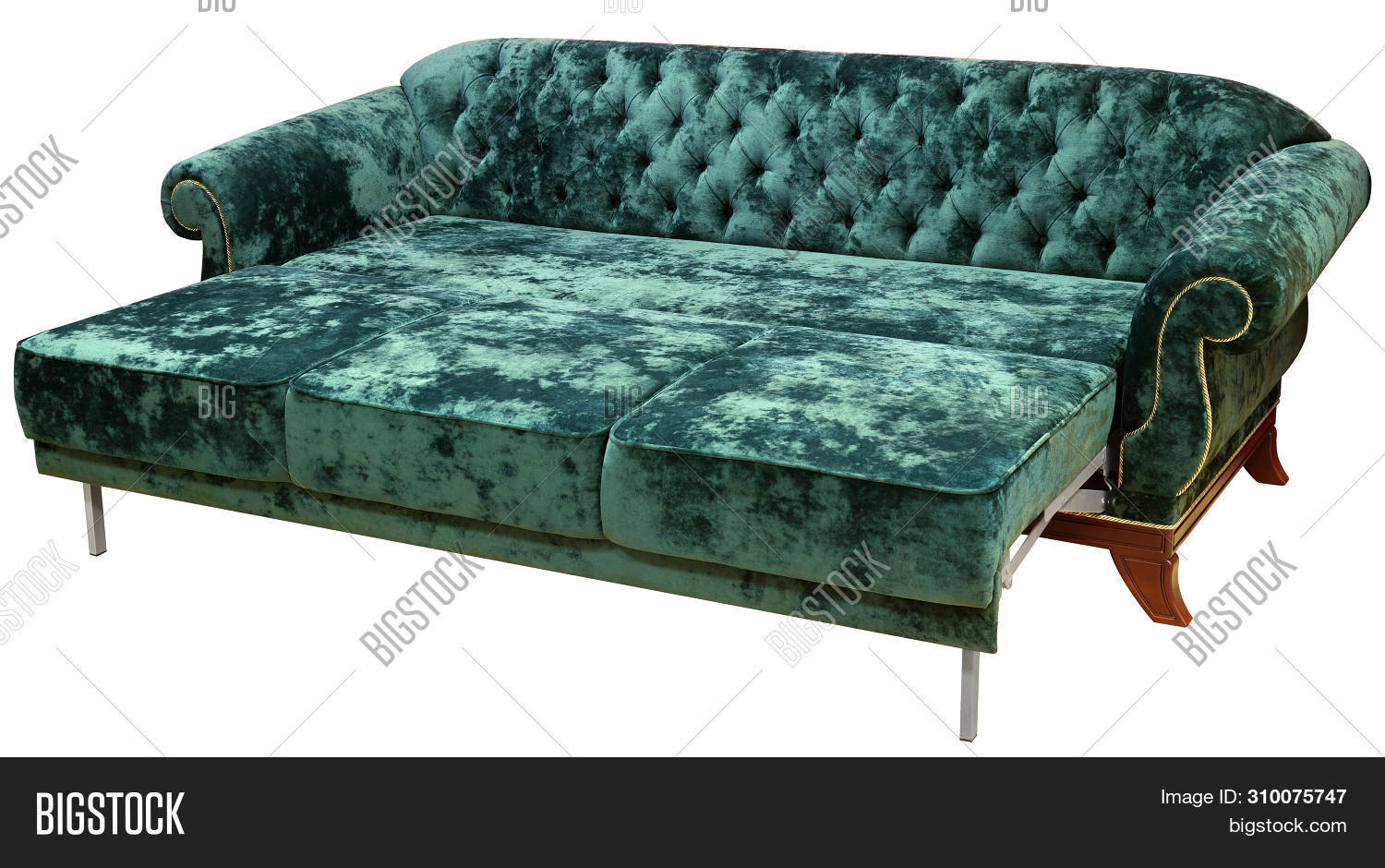 Astounding Classic Sofa Isolated Image Photo Free Trial Bigstock Ocoug Best Dining Table And Chair Ideas Images Ocougorg