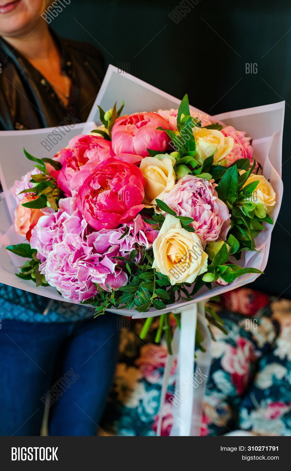 Most Beautiful Bouquet Image Photo Free Trial Bigstock