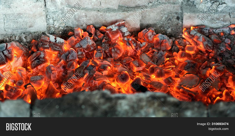 Burning Coals Image Photo Free Trial Bigstock