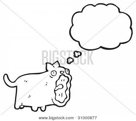 loud cat cartoon