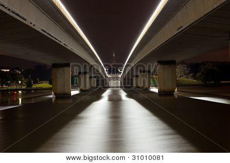 Parliament House Bridge at Night