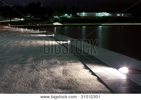 National Capital Exhibition Centre at Night