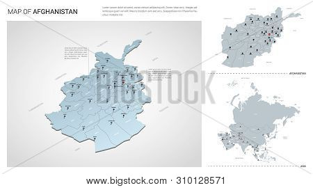 Map Of Asia 3d.Vector Set Vector Photo Free Trial Bigstock