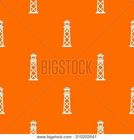 Pharos Pattern Vector Orange For Any Web Design Best