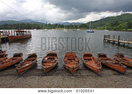 Boats at Ambleside