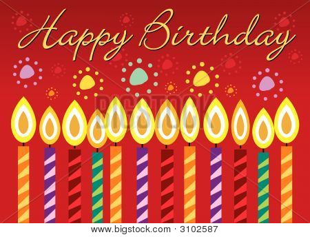 Happy birthday card images illustrations vectors happy happy birthday greeting card bookmarktalkfo Images