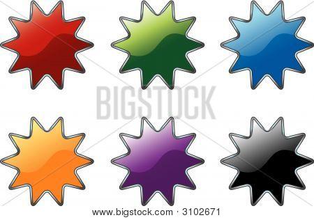Star Burst Icons