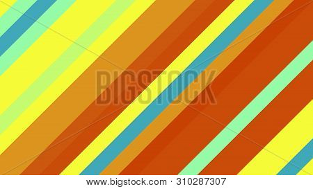 Background With Color Lines. Different Shades And Thickness.