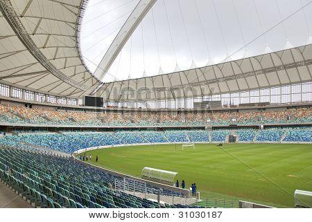 the Moses Mabhida stadium