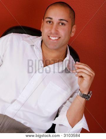 Attractive Smiling Man