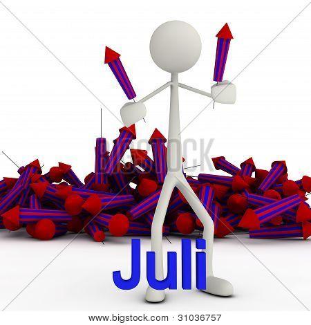 Stickman - July