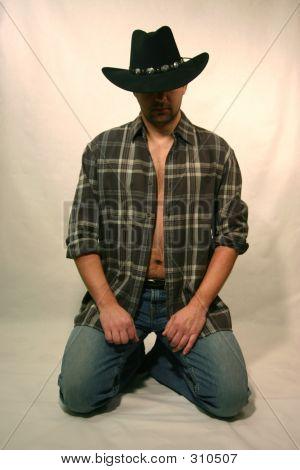 Sitting Cowboy