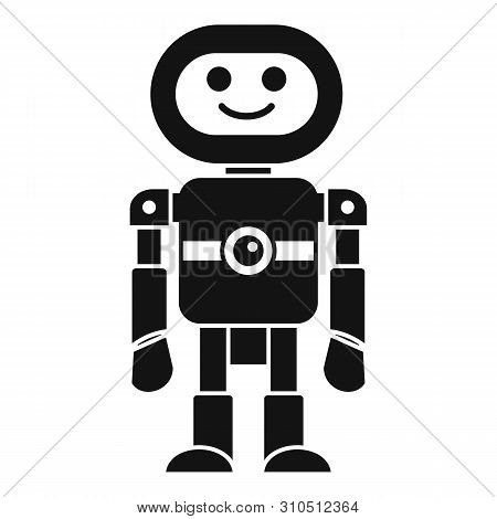 Humanoid Machine Icon. Simple Illustration Of Humanoid Machine Vector Icon For Web Design Isolated O