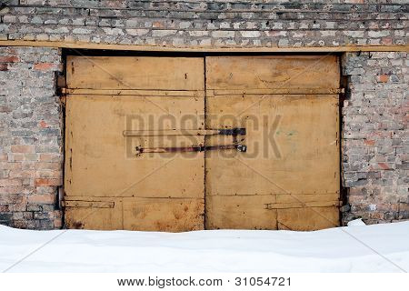 Brick Wall And Gates