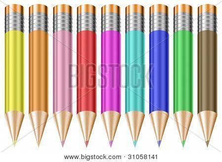Colorful Pastel Pencils
