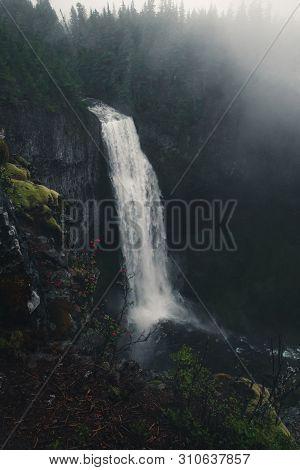 Salt Creek Falls Observation Site And Picnic Area, Willamette National Forest, Oregon, United States