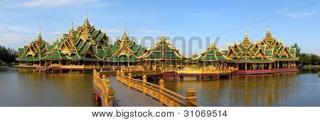 The Temple Complex On The Water