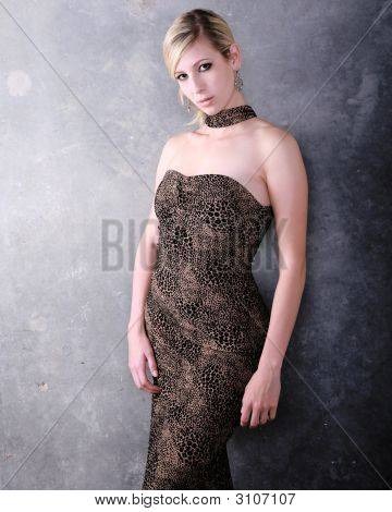 Woman In Formal Gown