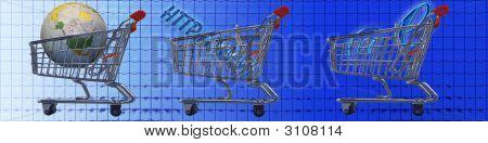 Banner Internet-Shopping und E-Commerce