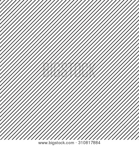 Diagonal Lines Pattern. Black And White Diagonal Background. Geometric Abstract Background. Striped