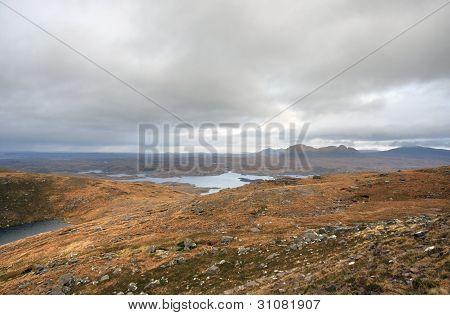 Dreamlike Landscape Near Stac Pollaidh