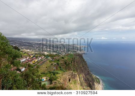 Views From Cabo Girao In Madeira (portugal)