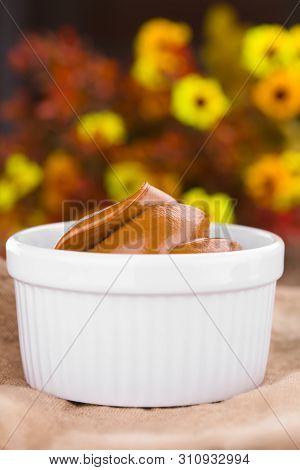 Latin American Sweet Caramel-like Manjar Or Dulce De Leche Used As Spread Or Filling In Baking (very