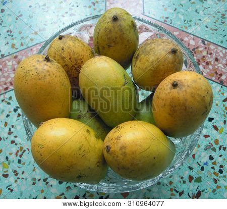 A Delicious ,hygienic And Cheap Fruits Called Mango Available In Eastern India.
