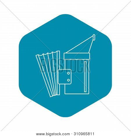 Fumigation Icon. Outline Illustration Of Fumigation Icon For Web