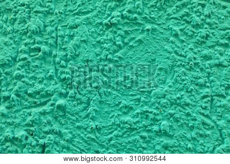 harmonic background of green exterior plaster wall poster