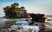 Temple in the sea( Pura tanah lot) Bali Indonesia poster