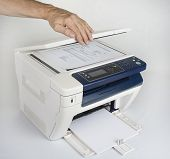 Multifunction printer  for printing scanning and copying poster