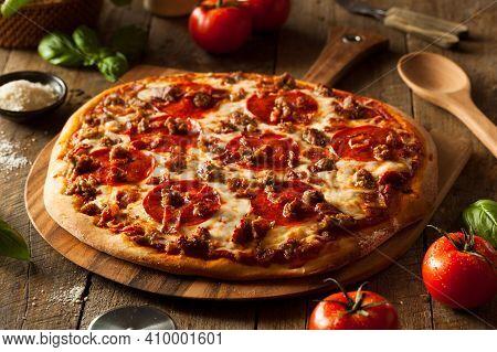Tasty Pizza. Lots Of Cheese Pizza. Pepperoni Pizza. Mushroom Pizza. Mozzarella And Tomato. Italian D