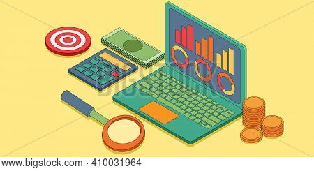 The Concept Of Data Analysis For A Website. The Concept Of Data Analysis, Risk Management, And Finan