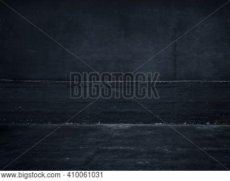 Dark concrete wall, textured background