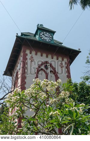 Howrah,west Bengal,india- 21st April 2019 : Historical Clock Tower Of Indian Institute Of Engineerin